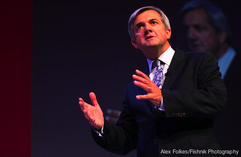 Energy minister Chris Huhne