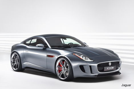 Jaguar C-X16 concept car
