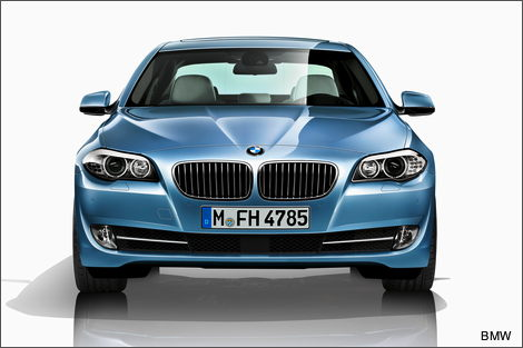 BMW ActiveHybrid 5 arrives in February 2012