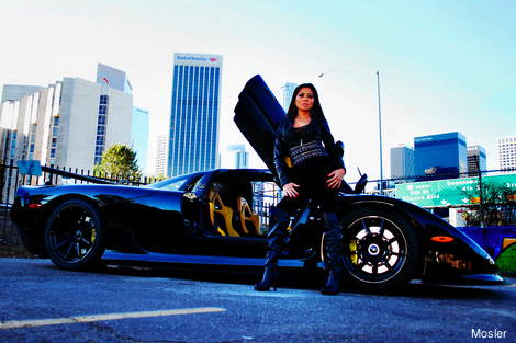 2012 Mosler Raptor GTR with Abby Cubey