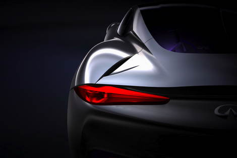 Infinit will launch range-extended electric sports car concept at the 2012 Geneva show