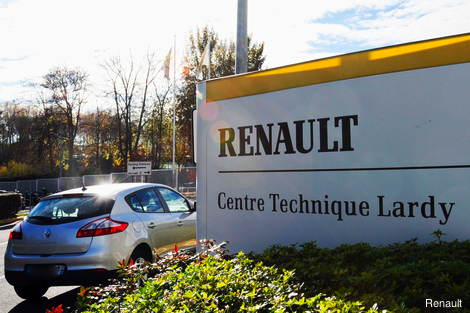 Renault's EV technical centre at Lardy