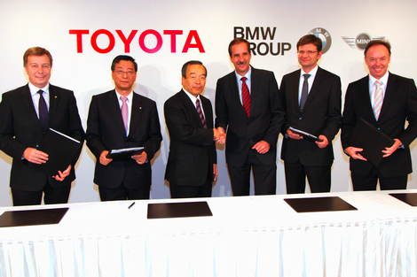 BMW and Toyota will collaborate on lithium ion technology
