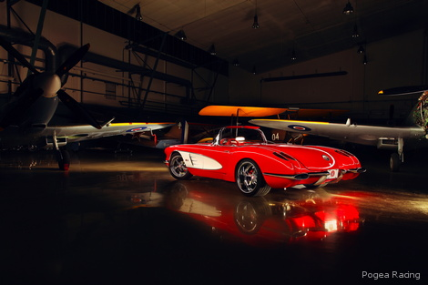 Pogea Corvette combines modern technology and classic looks