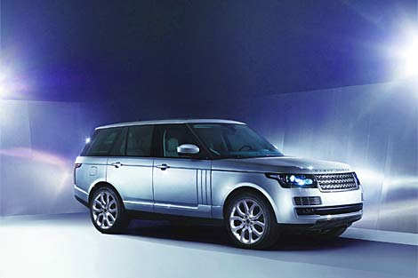 2013 Range Rover L405 has an all-alloy structure