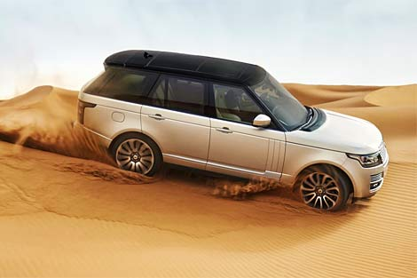 2013 Range Rover off road